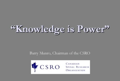 Knowledge is Power - part 1 of 3
