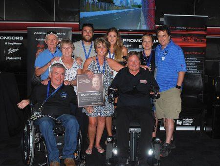 Barry Munro receives Braun Spirit of Ability Award